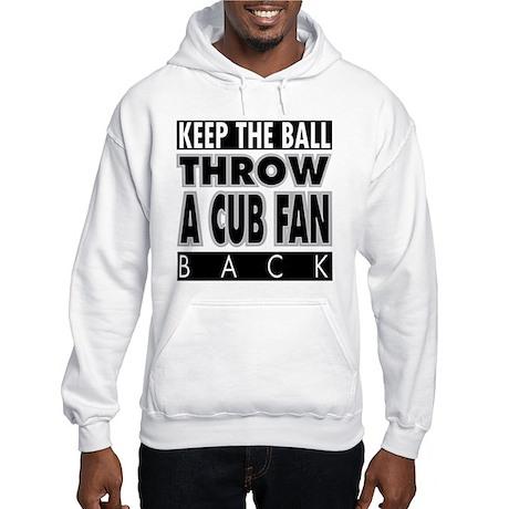 Throw A Cub Fan Hooded Sweatshirt