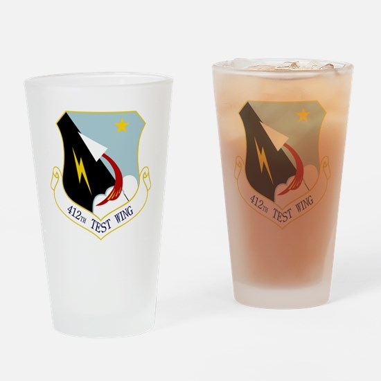 412th TW Drinking Glass