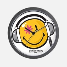 dj stuff Wall Clock
