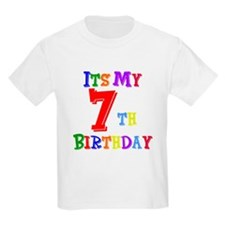 7th Birthday T-Shirt