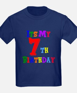 7th Birthday T