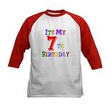 7th birthday Baseball Jersey