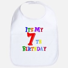 7th Birthday Bib