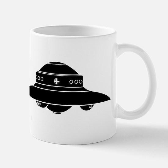Nazi UFO - Haunebu II Mug