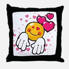 loving you Throw Pillow
