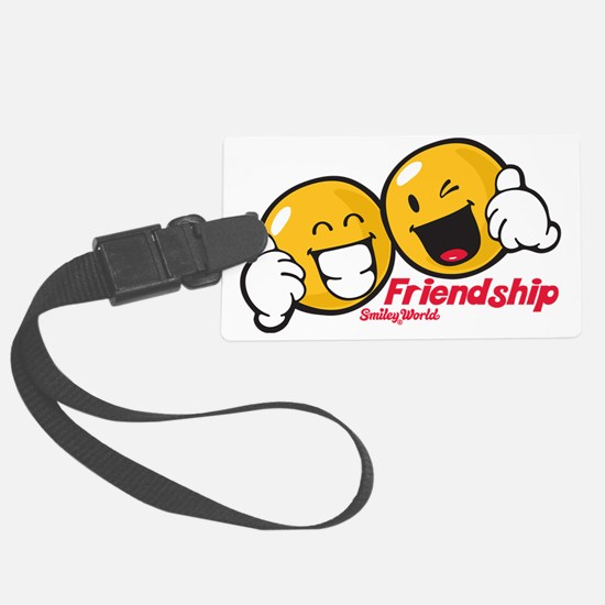 freindship Large Luggage Tag