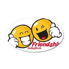 freindship 35x21 Oval Wall Decal