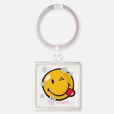 flower me Square Keychain