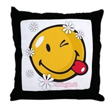 flower me Throw Pillow