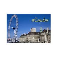 London Rectangle Magnet