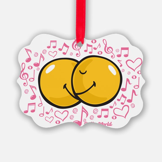 music and love Ornament