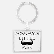 Mommys little man Landscape Keychain