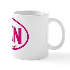 Lake Norman NC Euro Oval Sticker Small Mug
