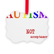 Autism Warrior Ornament