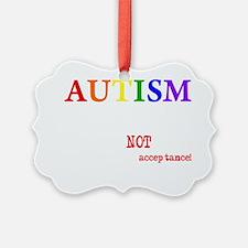 Autism Warrior Ornament