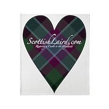 ScottishLaird Heart Throw Blanket