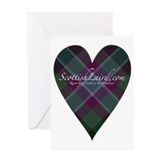 ScottishLaird Heart Greeting Card
