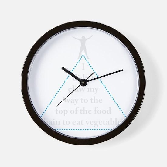 Anti Vegans, Funny Wall Clock