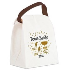 TEAM BRIDE Canvas Lunch Bag