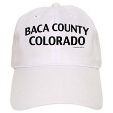 Baca County Colorado Baseball Cap