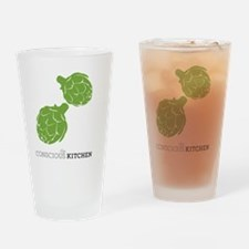 TCK Artichoke Apron Green Drinking Glass