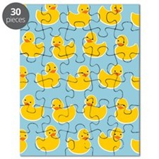 Cute Ducky Pattern Puzzle