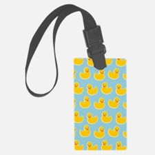 Cute Ducky Pattern Luggage Tag