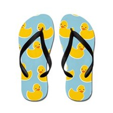 Cute Ducky Pattern Flip Flops