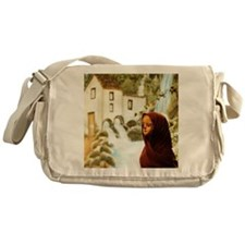 Young nordic girl Messenger Bag