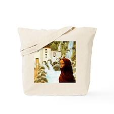 Young nordic girl Tote Bag