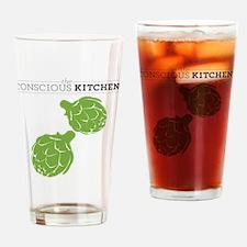 TCK Artichoke Tote Green Drinking Glass
