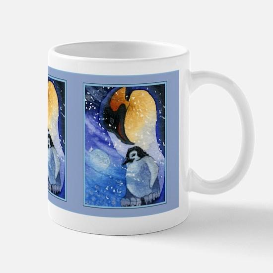 Snowy Penguins Mug