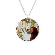 Young nordic girl Necklace