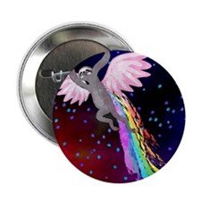 "Believe in Your Dreams Sloth 2.25"" Button"