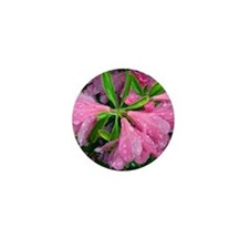 May Flowers Mini Button