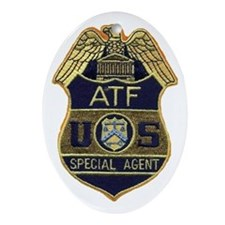ATF Oval Ornament