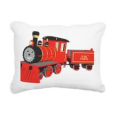 Shawn the train classic Rectangular Canvas Pillow