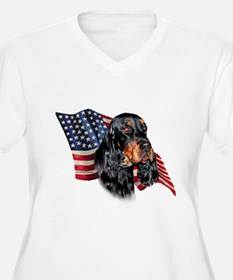 Gordon Setter Flag T-Shirt