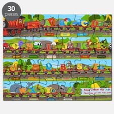 Alphabet Train Poster XL, 36x24, Great Trai Puzzle
