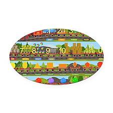 1116_png Oval Car Magnet