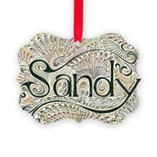 Sandy Ornament