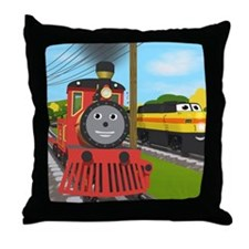 Shawn and Donald Throw Pillow