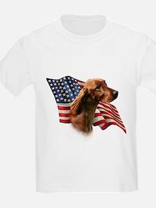 Irish Setter Flag T-Shirt
