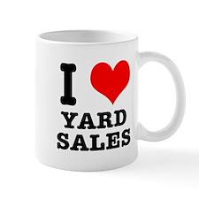 I Heart (Love) Yard Sales Mug