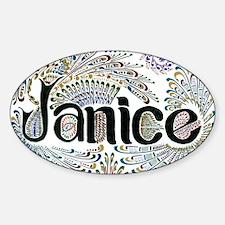 Janice Decal