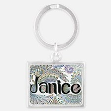 Janice Landscape Keychain