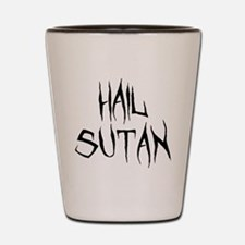 Hail Sutan Black Shot Glass