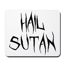 Hail Sutan Black Mousepad