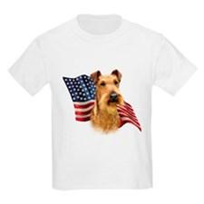 Irish Terrier Flag T-Shirt