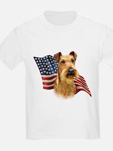 Irish Terrier Flag T-Shirt